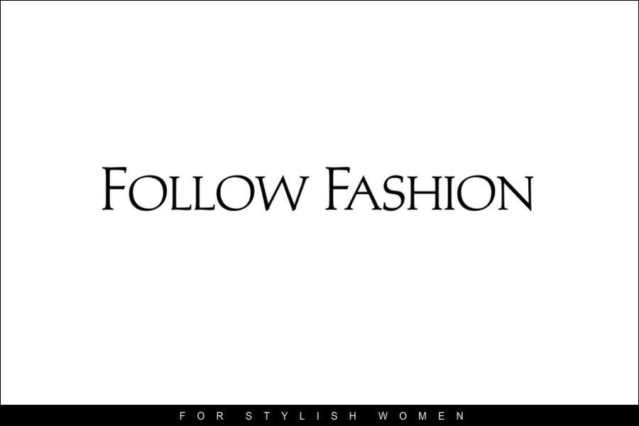 #52 for Logo Design for Follow Fashion by neXXes