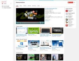 #10 for Design a WordPress Mockup by fourtunedesign