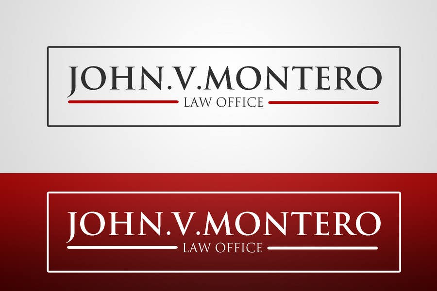 Contest Entry #66 for Logo Design for Law Office of John V. Montero