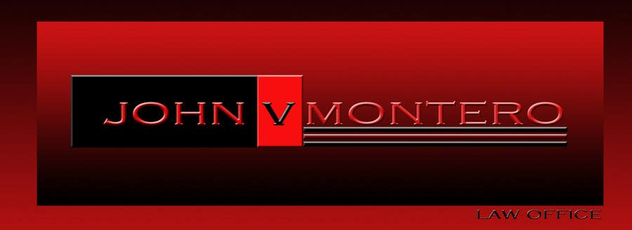 Penyertaan Peraduan #130 untuk Logo Design for Law Office of John V. Montero
