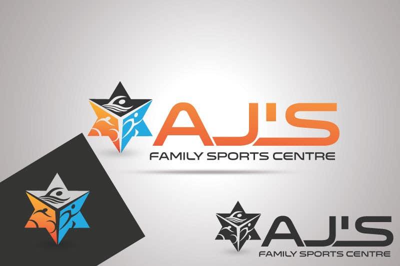 """Konkurrenceindlæg #38 for Design a Logo for AJ""""s Sports Centre"""