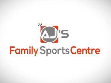 """#25 para Design a Logo for AJ""""s Sports Centre por tfdlemon"""