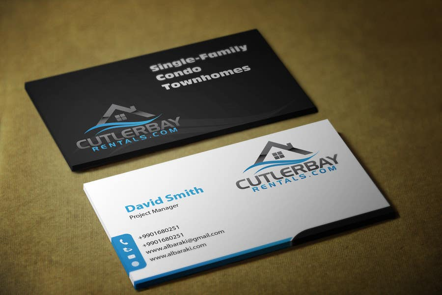 Penyertaan Peraduan #39 untuk Design Business Cards
