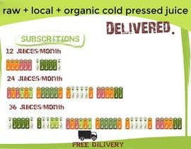 #27 para Design a Banner for Juice Delivery por olsiad