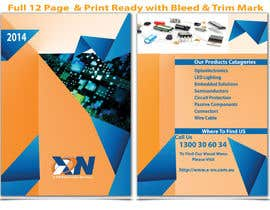 #22 for Design a Brochure for Electronic Parts Supply company by hsheik