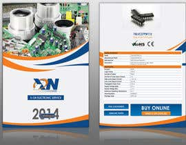 #12 for Design a Brochure for Electronic Parts Supply company by tahira11