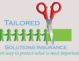 #104 para Logo Design for Tailored Solutions Insurance por dworker88