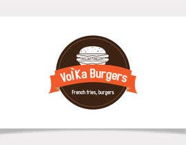 nº 12 pour Logo design for a burger cafe par rathar
