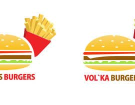 nº 18 pour Logo design for a burger cafe par webbyowl