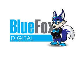 #41 untuk Design a Logo for Blue Fox Digital oleh MyPrints