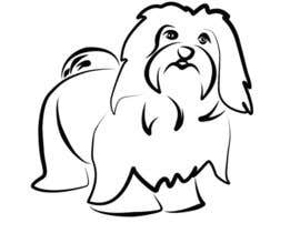 nº 32 pour Logo / Drawing / Illustration of a dog par malathy27