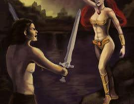 stevanzivkovic tarafından Provide cover art for a sword and sorcery book için no 45