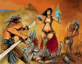 Darwiencruz tarafından Provide cover art for a sword and sorcery book için no 42