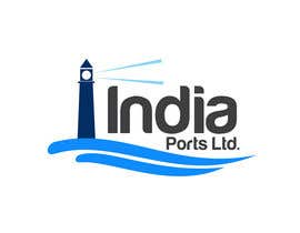 #351 for Logo Design for India Ports by ulogo
