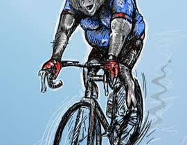 #83 for Character illustration for a bicycle ride by unsoftmanbox