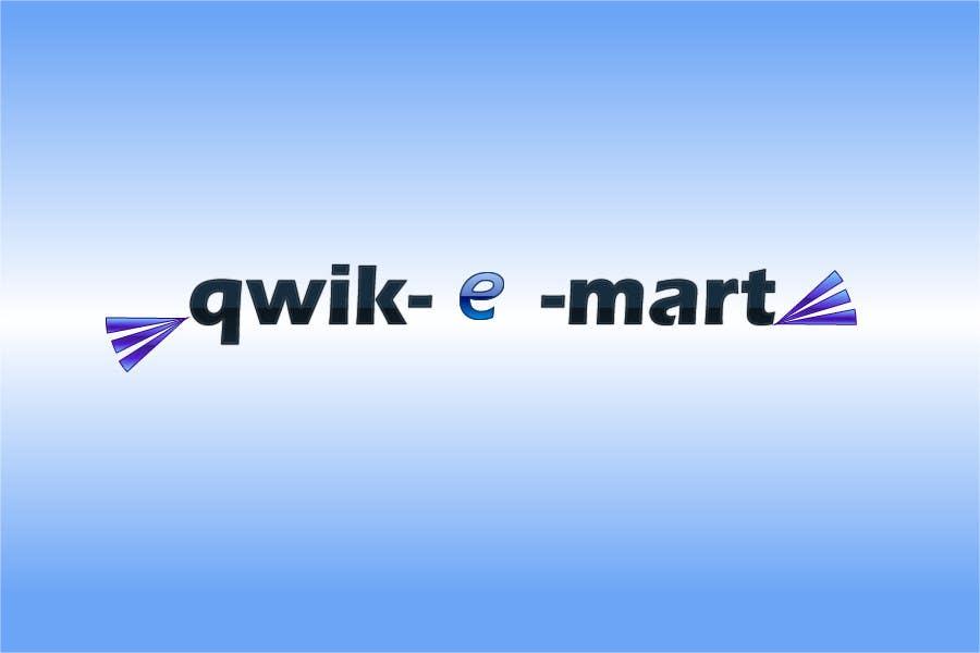 Participación en el concurso Nro.48 para Logo Design for Qwik-E-Mart