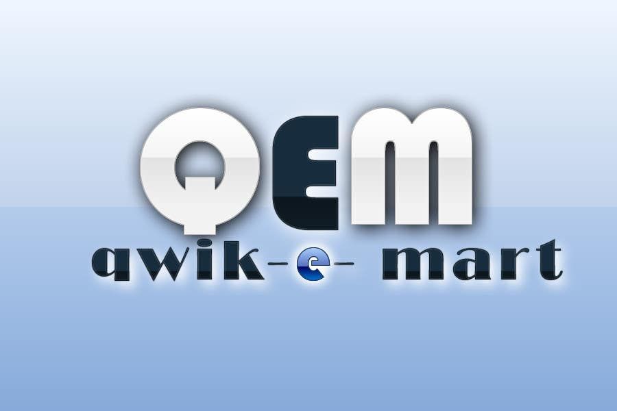 Конкурсна заявка №54 для Logo Design for Qwik-E-Mart