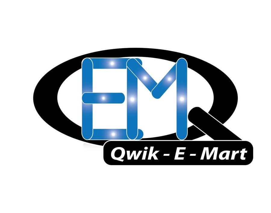 Participación en el concurso Nro.224 para Logo Design for Qwik-E-Mart