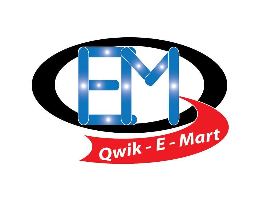 Participación en el concurso Nro.230 para Logo Design for Qwik-E-Mart