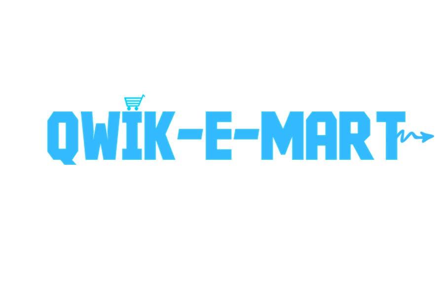 Participación en el concurso Nro.46 para Logo Design for Qwik-E-Mart
