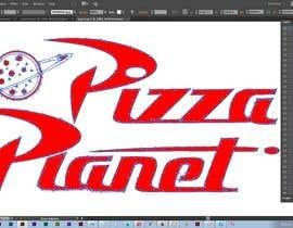 cdd1234 tarafından Pizza Planet Rocket Ship Vector için no 5