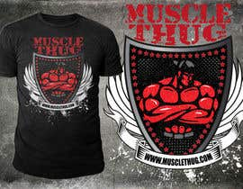 #49 for Design a T-Shirt for our althletic brand Muscle Thug af richisd