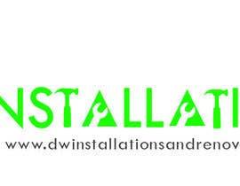 Nro 38 kilpailuun Logo Design for http://dwinstallationsandrenovations.com.au/ käyttäjältä jojohf