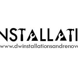 Nro 43 kilpailuun Logo Design for http://dwinstallationsandrenovations.com.au/ käyttäjältä jojohf