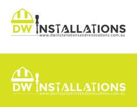 Nro 48 kilpailuun Logo Design for http://dwinstallationsandrenovations.com.au/ käyttäjältä arkwebsolutions