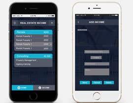 Nro 11 kilpailuun Design two Mobile App Pages käyttäjältä Hobology