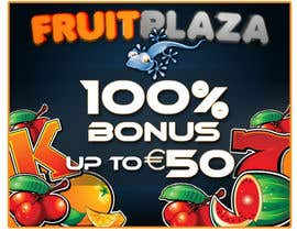nº 9 pour Design a Banner for Fruitplaza.com par darkemo6876