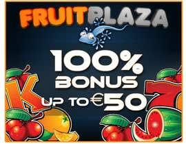 #9 para Design a Banner for Fruitplaza.com por darkemo6876