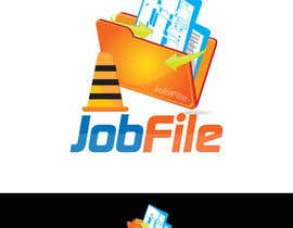 #290 for Logo Design for JobFile by admirernepali