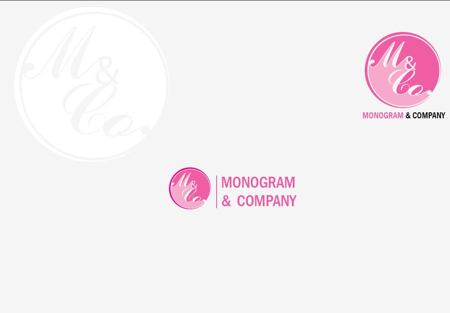 #9 for Design logo for Monogram and Company by AWAIS0