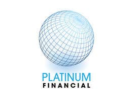nº 23 pour Concevez un logo for PLATINIUM FINANCIAL par bab55z