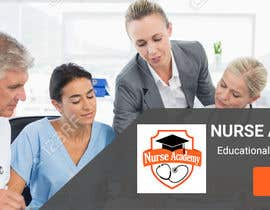 Nro 34 kilpailuun Nurse Academy seeking a website banner design käyttäjältä Lakshmipriyaom