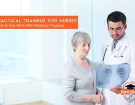 Nro 43 kilpailuun Nurse Academy seeking a website banner design käyttäjältä Nomadicgypsy