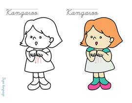 #14 untuk Illustrate a child signing the name of an animal oleh attache512