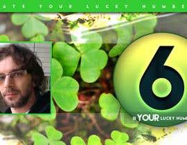 Nro 4 kilpailuun Create an exciting lucky Banner for your lucky number käyttäjältä EtienneV