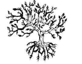 Nro 5 kilpailuun Design a hidden message in a tree Tattoo käyttäjältä chi219