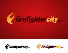 #57 para Logo Design for firefightercity.com por PsychoSherry