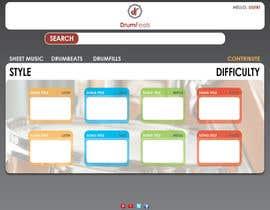 #5 for Design a Website Mockup by fer100marco