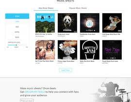 Kreaterz tarafından Design a Website Mockup için no 6
