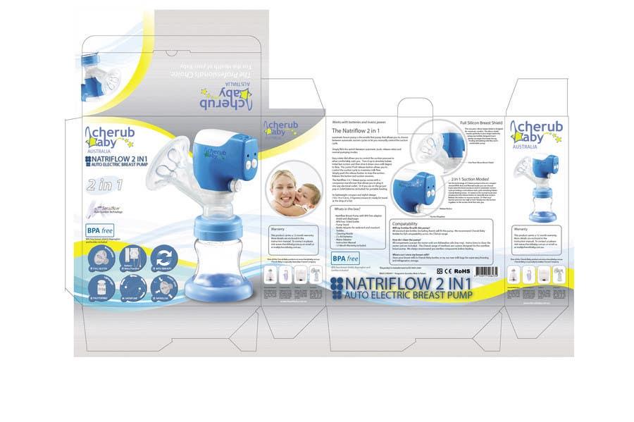 Packaging Box Design for Cherub Baby için 10 numaralı Yarışma Girdisi