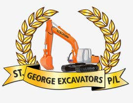nº 50 pour Graphic Design for St George Excavators Pty Ltd par barada0