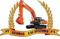 Graphic Design for St George Excavators Pty Ltd için Graphic Design65 No.lu Yarışma Girdisi