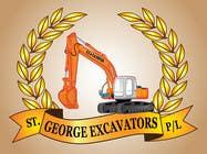 Graphic Design for St George Excavators Pty Ltd için Graphic Design66 No.lu Yarışma Girdisi