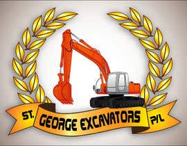 nº 36 pour Graphic Design for St George Excavators Pty Ltd par fatamorgana