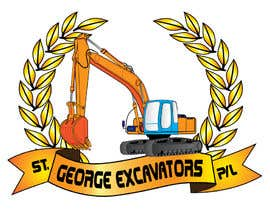 nº 31 pour Graphic Design for St George Excavators Pty Ltd par fatamorgana