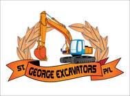 Graphic Design for St George Excavators Pty Ltd için Graphic Design29 No.lu Yarışma Girdisi